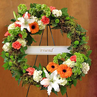 Enduring Friendship Wreath