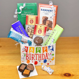 Ballard Blossom Inc Birthday Chocolates Gift Seattle WA 98107 FTD