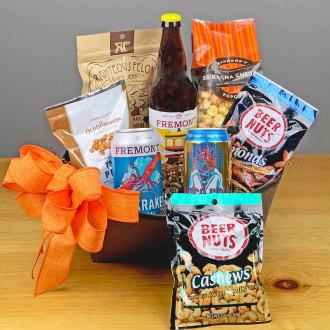 Beer Lover\'s Snack Basket