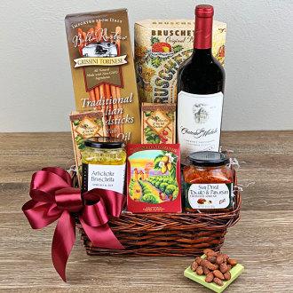 Cabernet Sauvignon Gourmet Basket