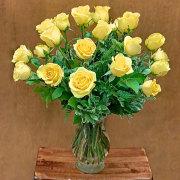 Exquisite Yellow Rose Bouquet