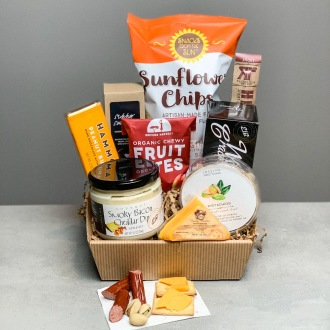 Dad's Beer and Snack Basket