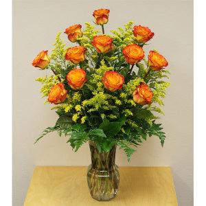 1 Dozen Circus Roses