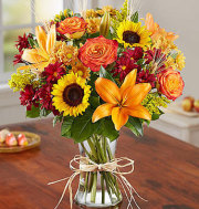 Ballard's Fresh Fall Vase Arrangement