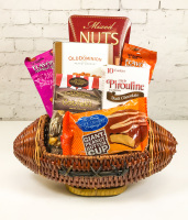 Football Snack Basket
