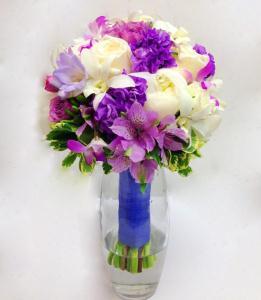 Lovely Lavender Bridal Bouquet