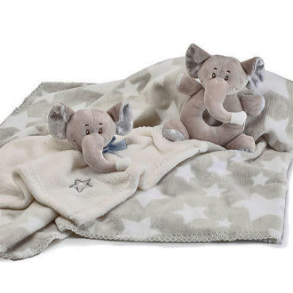 New Baby Gift Set with Elephant