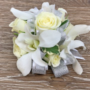 Sterling Silver Wrist Corsage