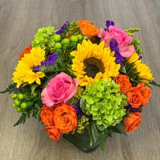 Ballard\'s Vivid Colors Bouquet