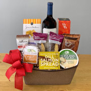 Wine With Everything Gourmet Basket