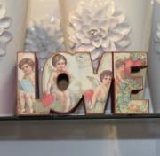 LOVE Block Sign