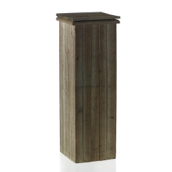 Rental Barn Wood Pedestals