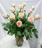 Dozen Tiffany Roses