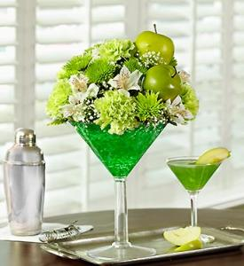 Floral Apple Martini by CCF