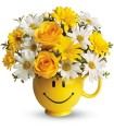Teleflora's Be Happy Mug by CCF