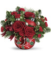 Teleflora's Deck the Holly by CCF