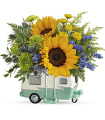 Teleflora's Retro Road tripper by CCF