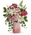 Teleflora's Pink-n-Peach Paradise by CCF