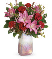Teleflora's Pretty in Quartz by CCF