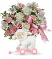 Teleflora's Sweet Little Lamb - Girl