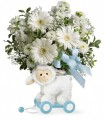 Teleflora's Sweet Little Lamb - Boy