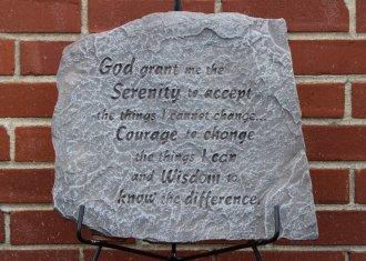 Serenity Prayer SM#19117