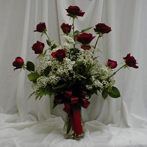 Dozen Long Stem Roses