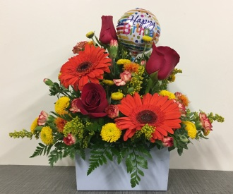 J Js Floral Shop LLC Autumn Birthday Wishes Tomah WI 54660 FTD