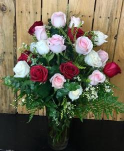 Bel Aire 2 Dozen Rose Arrangement