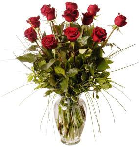Bel Aire Dozen Rose Bouquet