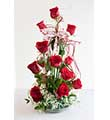 Bel Aire Red Hot Bouquet