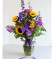 Bel Aire Sunflower Passion Bouquet