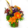 Bel Aire Seasonal Flowers of Fall  Bouquet