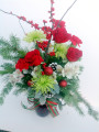 Bel Aire Holiday Cheer bouquet