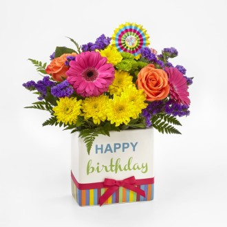 The FTD® Birthday Brights Bouquet