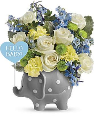 Hello Sweet Baby - Blue