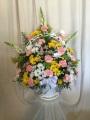 Spring Garden Funeral Basket