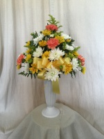 Memorial Vase mixed colors