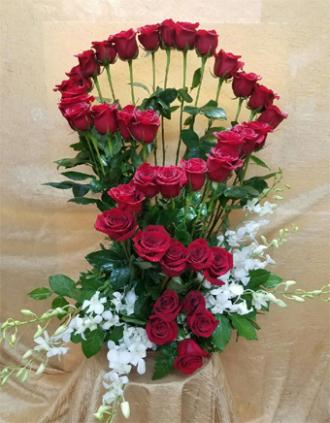 Roses and Orquideas
