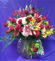 Mix Arrangement with Roses