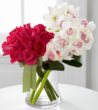 Luxury Rose & Cymbidium