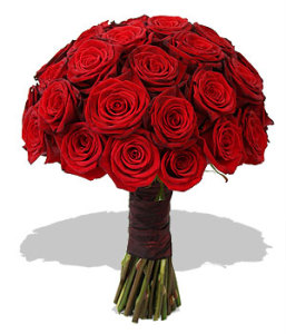 HAND TIED ROSE BOUQUET