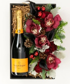 Veuve and Flowers