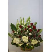 Love and Celebration Floral Arrangement