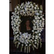 Eternal Memory Floral Frame Arrangement