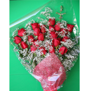 24 Roses Hand Tied Bouquet