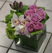Modern Floral Cube