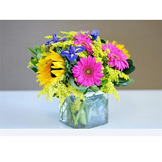Mixed Flower Jar
