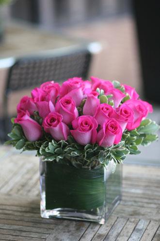 Hot Hot Pink Roses