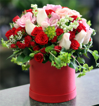 Charming beauty floral box
